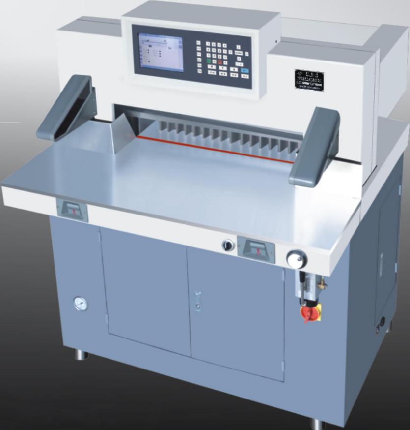 深圳顾美PLC一体机在切纸机上的应用